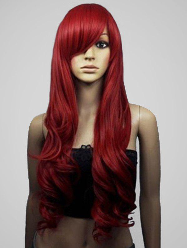 Outfits Long Side Bang Body Wave Cosplay Synthetic Wig
