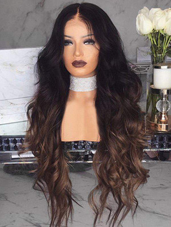 Shops Body Wave Center Part Long Synthetic Wig with Lace Front