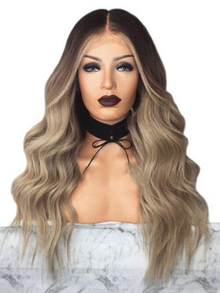 Outfits Body Wave Center Part Long Synthetic Wig