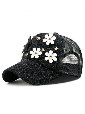 Floral Decoration Casual Baseball Hat