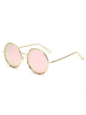2f47fd6cf3e9 28% OFF] Vintage Punk Round Shape Two Layers Sunglasses | Rosegal