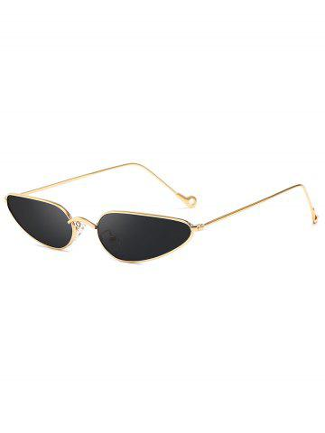 Stylish Narrow Frame Retro Sunglasses