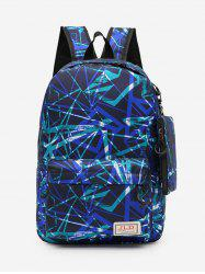 Outdoors Casual Pattern Backpack -