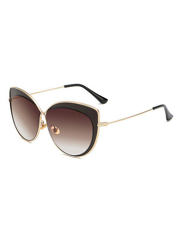 Hot Polarized Butterfly Shape Decorated Sunglasses