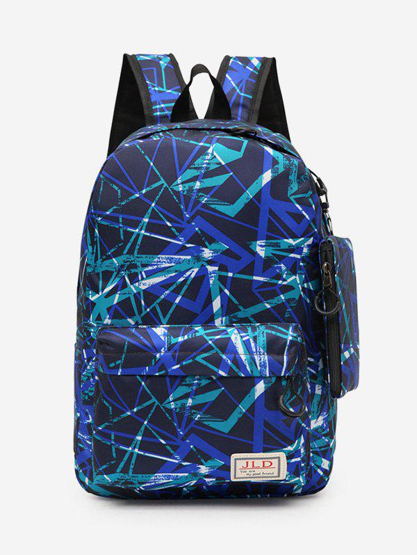 Trendy Outdoors Casual Pattern Backpack