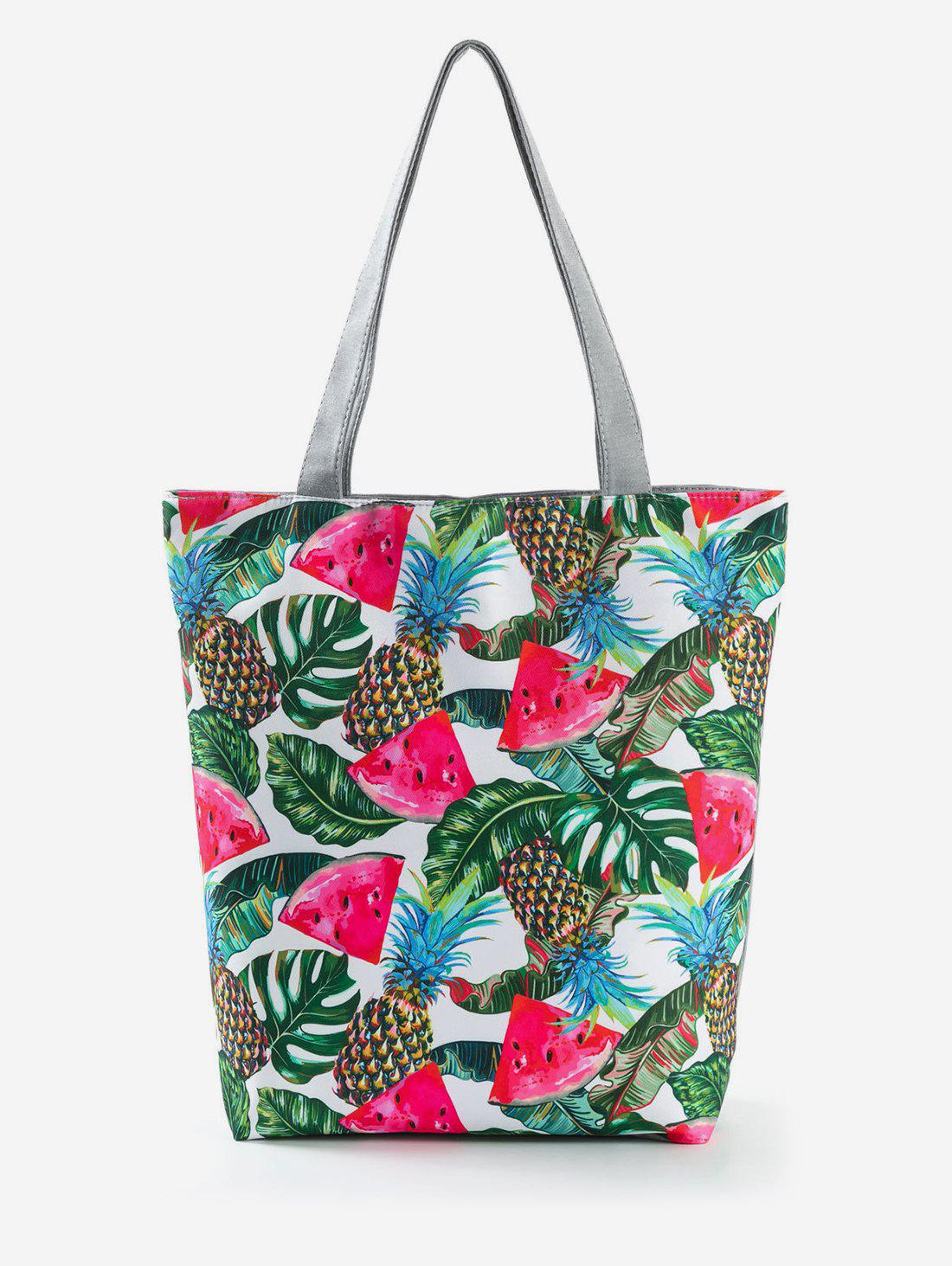 Outfits Canvas Fruit Printed Tote Bag