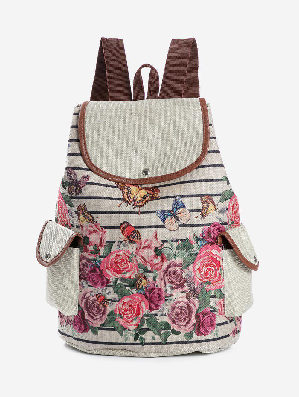 Outfit Stylish Fruit Print Backpack