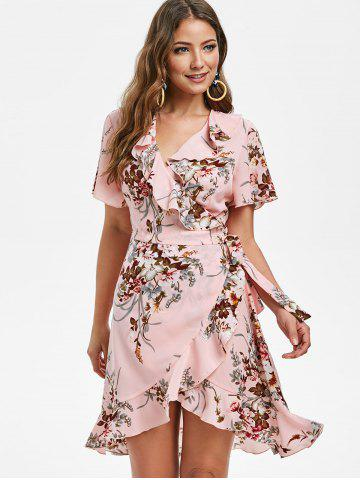 Ruffle Flower Tulip Dress
