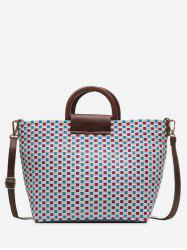 Weaving Chic Style Summer Tote Bag -