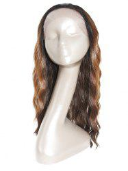 Wavy Natural Long Synthetic Wig with Lace Front -