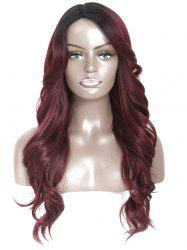 Side Part Long Body Wavy Synthetic Wig -