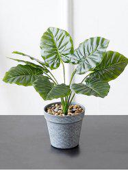 Home Decoration Artificial Plant Potted Palm Leaves -