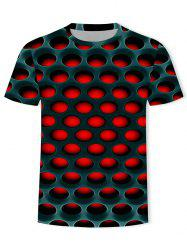 Burning Honeycomb Briquette Graphic Tee -