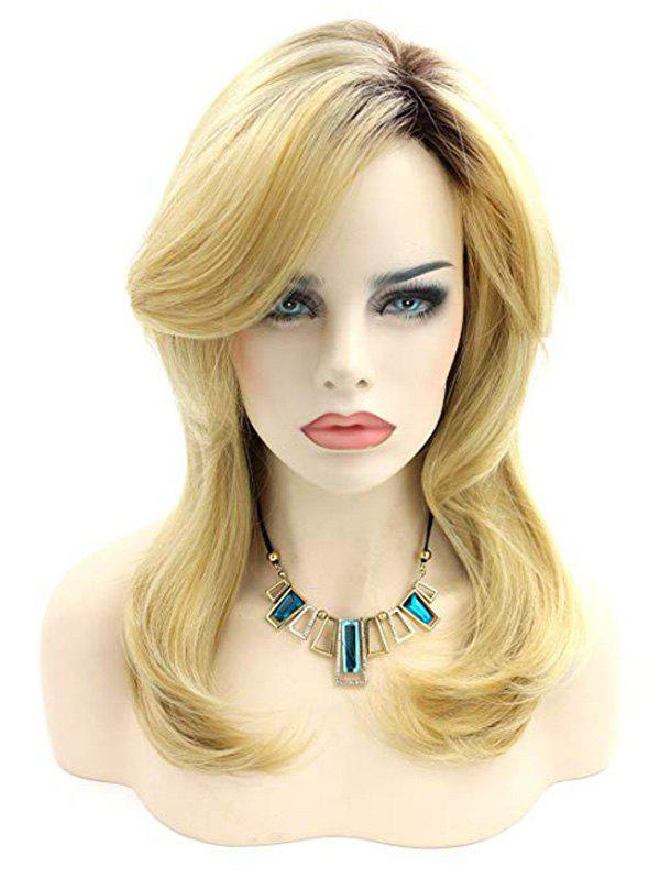 Best Medium Synthetic Body Wave Side Bang Wig