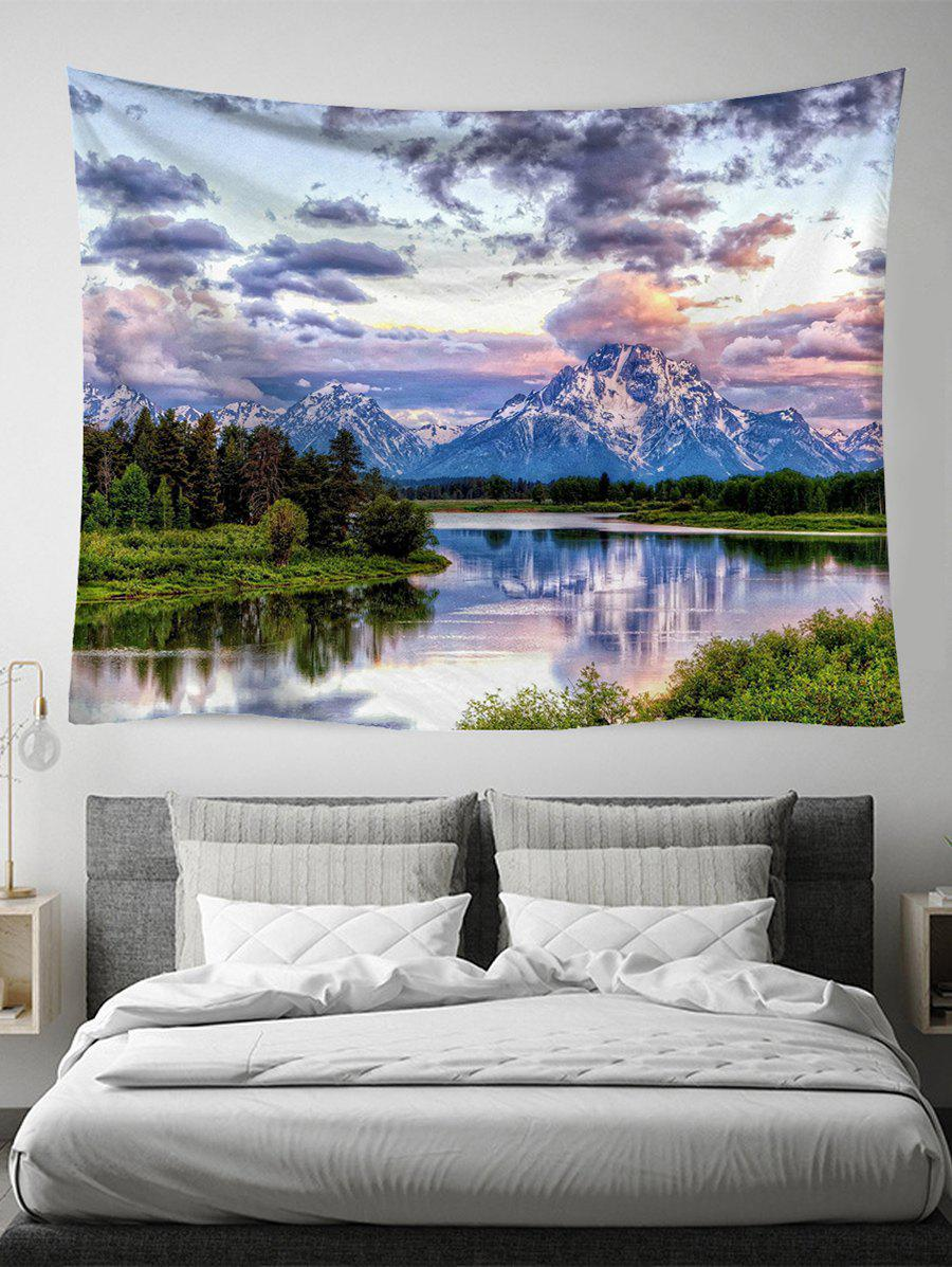 Affordable Mountain Scene Print Art Decoration Wall Tapestry