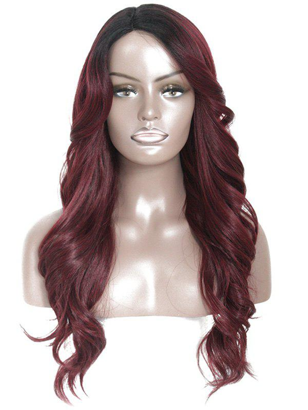 Store Side Part Long Body Wavy Synthetic Wig