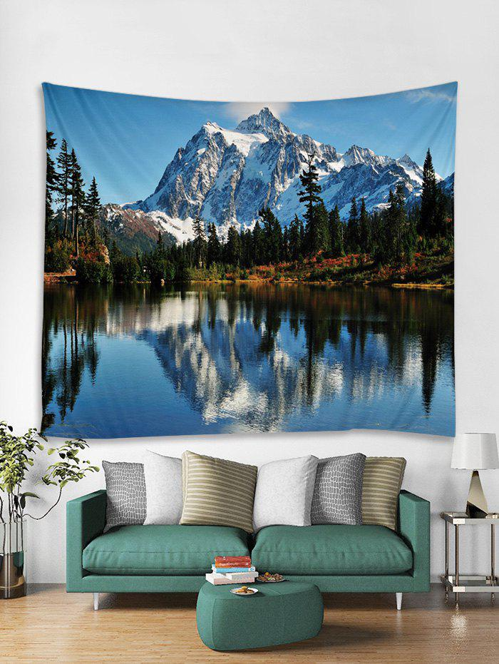 Snow Mountain Print Art Decoration Wall Tapestry