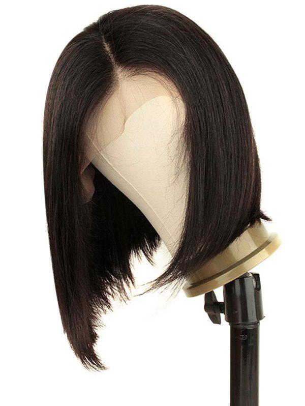 Outfits Free Part Short Straight Bob Lace Front Human Hair Wig
