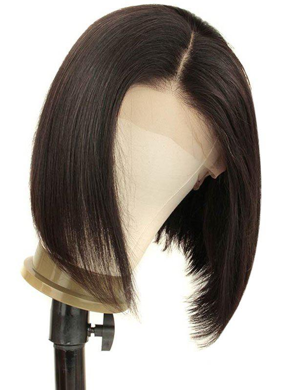 Discount Short Straight Bob Lace Front Human Hair Wig