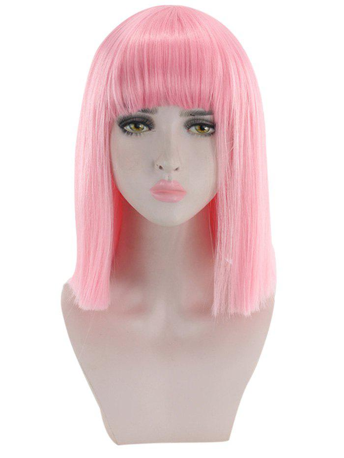 Best Short Full Bang Straight Cosplay Wig