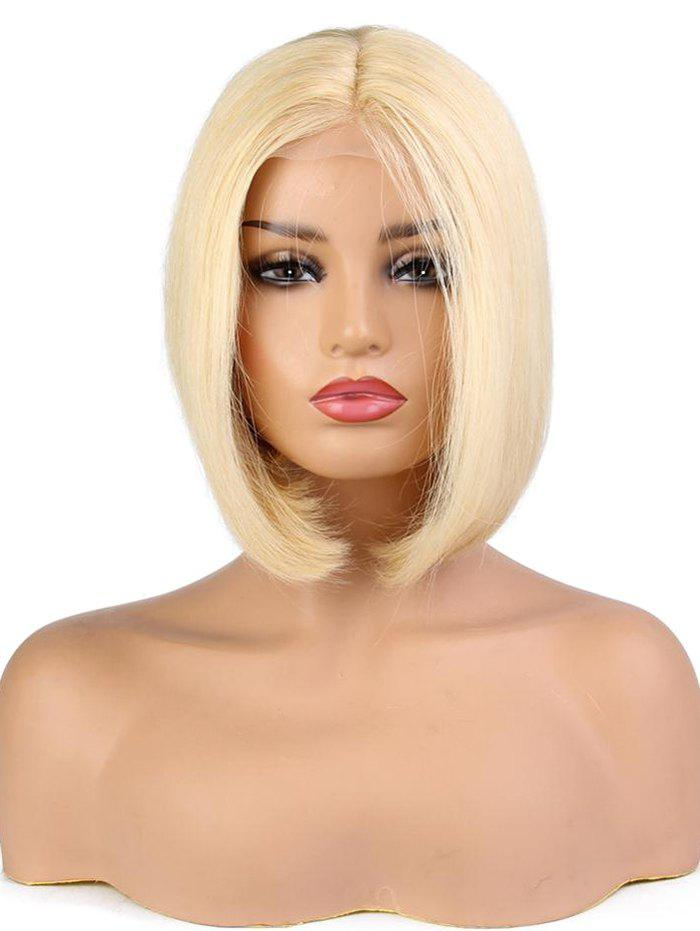 Outfit Short Straight Bob Human Hair Lace Front Wig