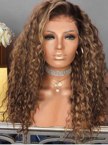 Afro Curly Long Fluffy Synthetic Wig