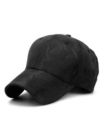 Camouflage Printed Casual Baseball Hat