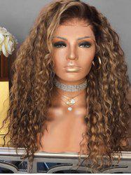 Afro Curly Long Fluffy Synthetic Wig -
