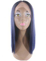 Medium Straight Lace Front Synthetic Wig -