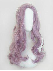 Center Part Body Wave Long Synthetic Cosplay Wig -