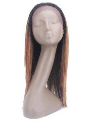 Straight Synthetic Long Wig with Lace Front -