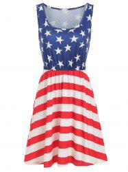 American Flag Casual Tank Dress -