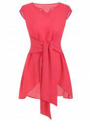 Tie Rings Tunic Blouse -
