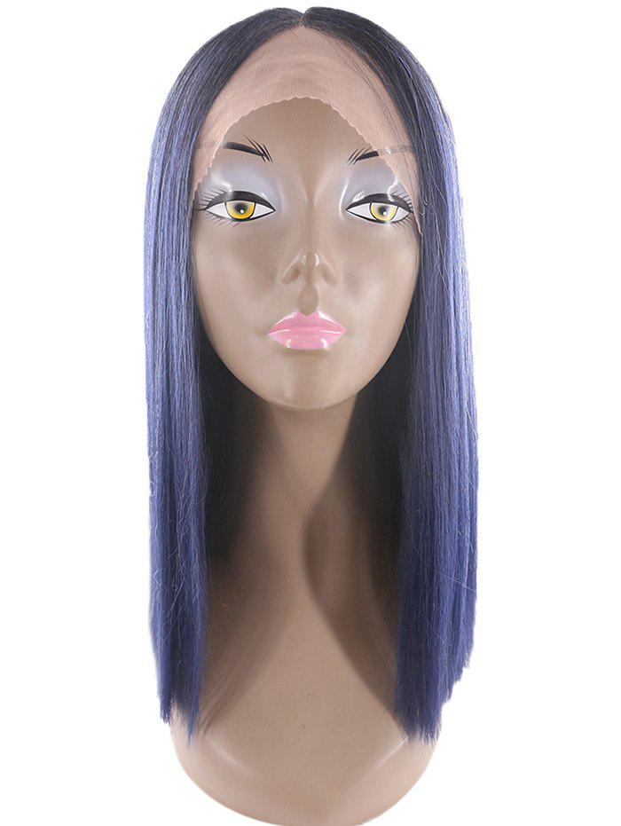 Online Medium Straight Lace Front Synthetic Wig
