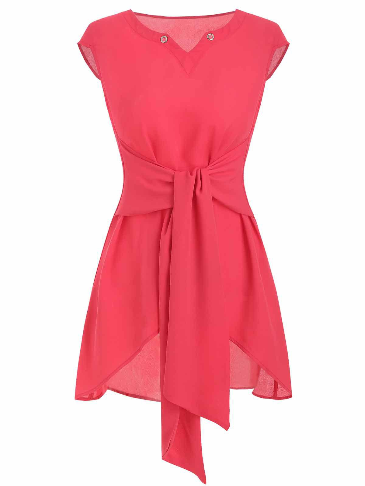Best Tie Rings Tunic Blouse