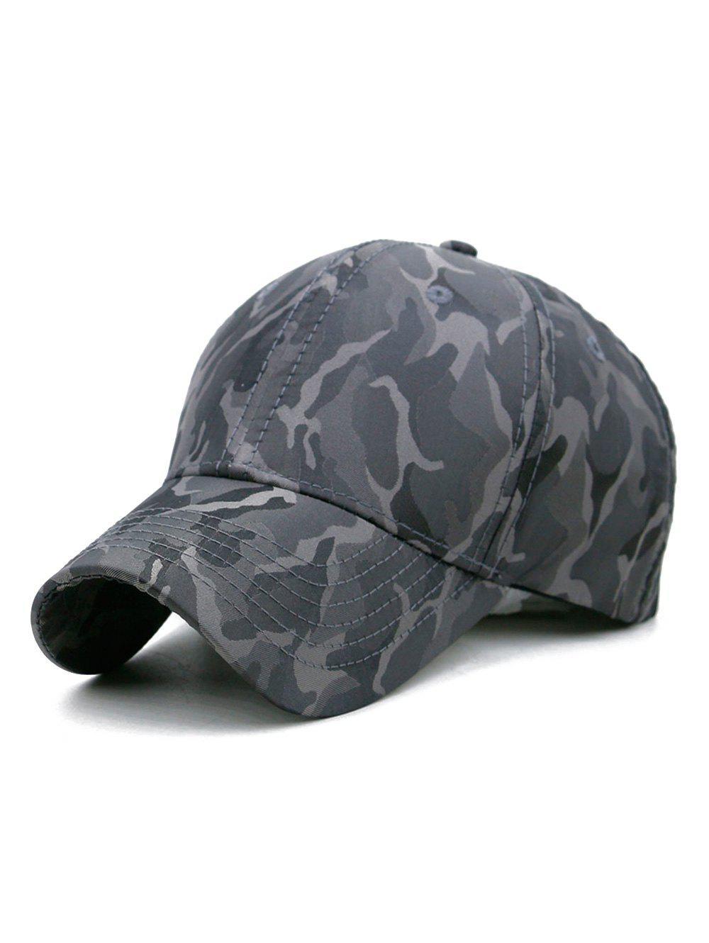 Outfit Camouflage Printed Casual Baseball Hat