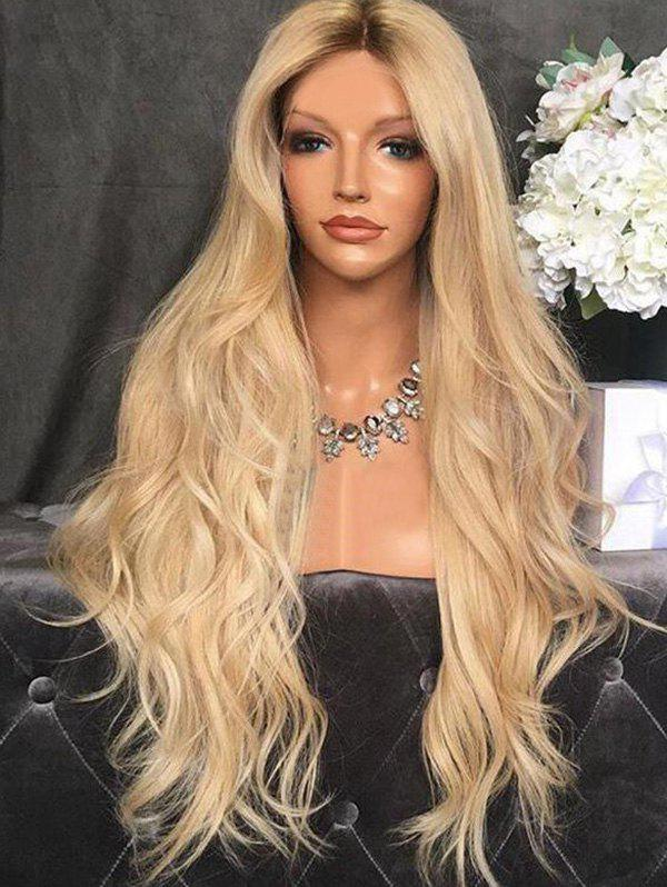 Latest Center Part Body Wave Synthetic Long Wig
