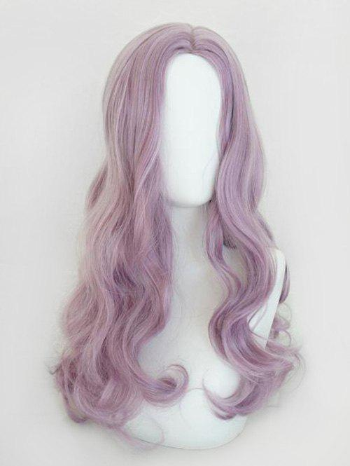 Fancy Center Part Body Wave Long Synthetic Cosplay Wig