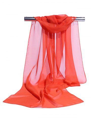 Chiffon Silky Breathable Long Scarf