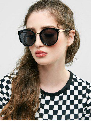 European American Round Young Style Sunglasses