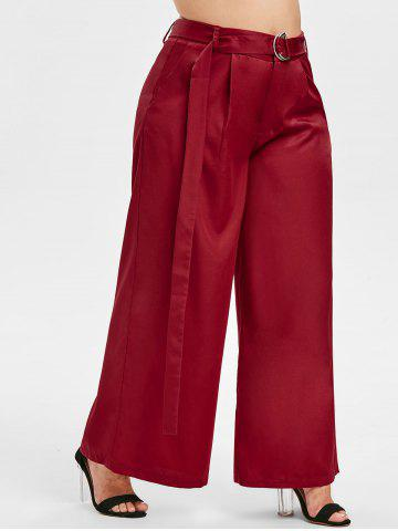 Plus Size High Waist Palazzo Pants