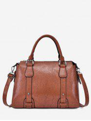 PU Leather Retro Handbag -