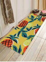 Pineapple Pattern Water Absorption Area Rug -