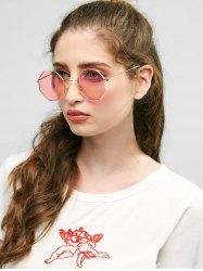Metal Frame Sunglasses -