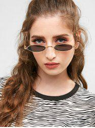 Statement Metal Full Frame Steampunk Sunglasses -