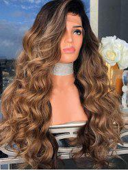 Side Part Long Body Wave Synthetic Cosplay Wig -