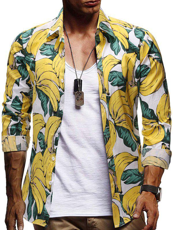 Buy Allover Banana Print Button Shirt
