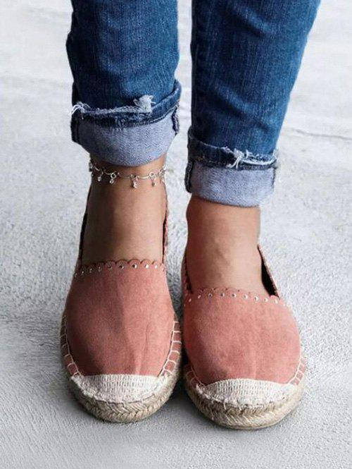 Trendy Slip On Canvas Espadrilles Shoes