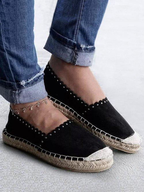 Fashion Slip On Canvas Espadrilles Shoes