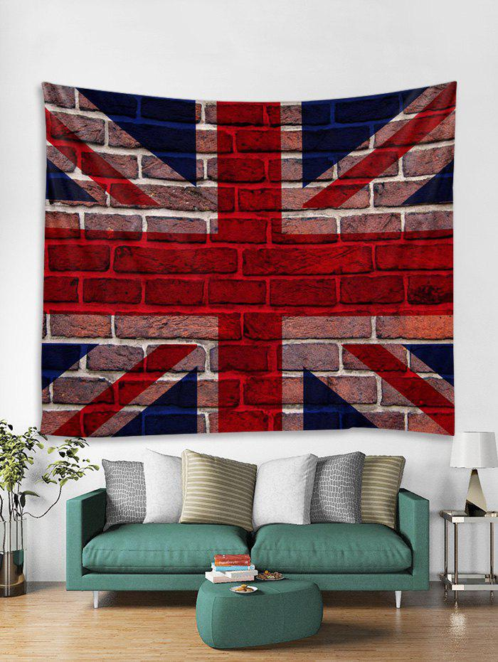 New Flag Brick Wall 3D Print Wall Tapestry